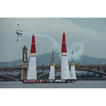 Martin Sonka of the Czech Republic performs during the qualifying for the third stage of the Red Bull Air Race World Championship in Putrajaya, Malaysia on May 17, 2014. Photo Credit: Jörg Mitter/Red Bull Content Pool