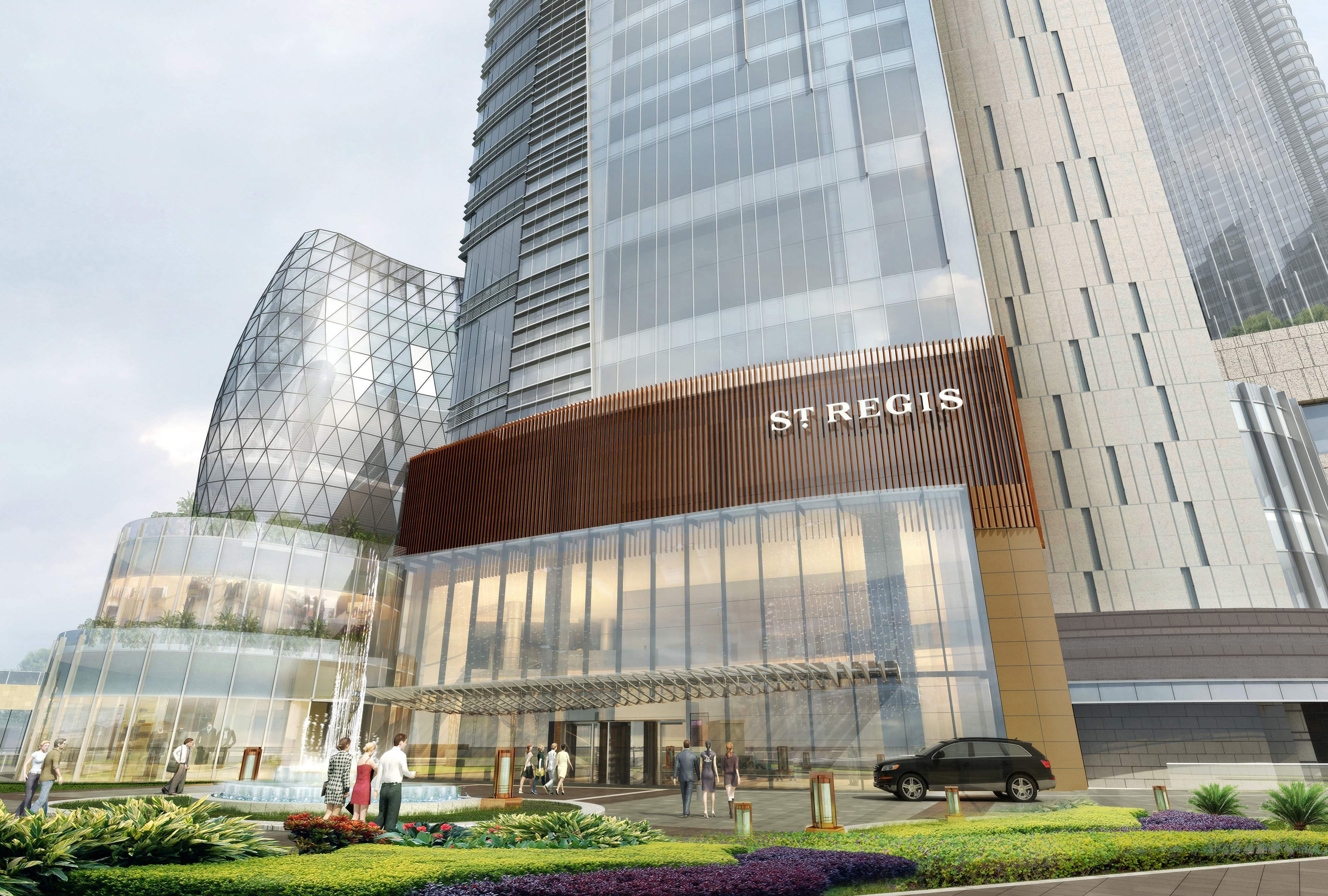 Rendering of The St. Regis Chengdu (Graphic: Business Wire)