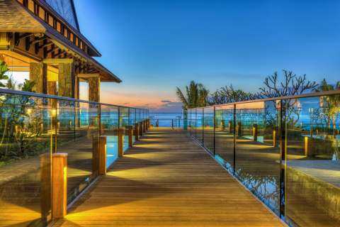 The Westin Turtle Bay Resort, Mauritius - Entrance (Photo: Business Wire)
