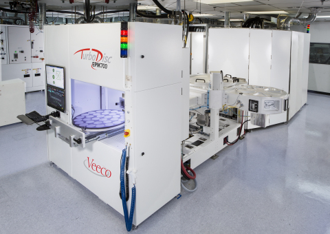 Veeco introduces TurboDisc EPIK700 GaN MOCVD System for high volume LED manufacturing to accelerate general lighting adoption. (Photo: Business Wire)