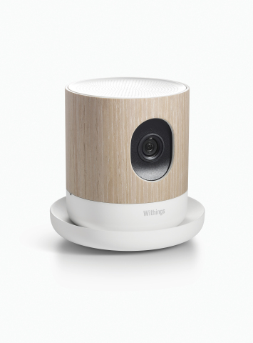 Withings Introduces Home, Elegant HD camera with environmental sensors (Photo: Business Wire)