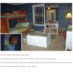 "This award-winning submission for the Wells Fargo ""What Makes a Home"" contest gave David Meeks and his family a $250,000 prize. The submission portrays four-year-old Will Meeks' reaction to seeing his room in the family's new home for the first time. (Graphic: Business Wire)"