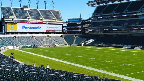 Panasonic delivers winning fan experience at Lincoln Financial Field (Photo: Business Wire)