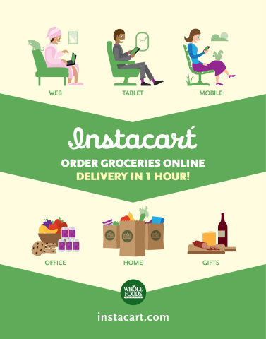 Whole Foods Market Instacart Infographic (Graphic: Business Wire)