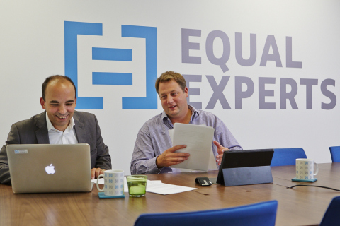 Thomas Granier, MD and Ryan Sikorsky, Director - Equal Experts (Photo: Business Wire)