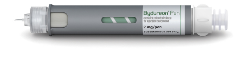 Please read full Prescribing Information for Bydureon(R) (exenatide extended-release for injectable suspension) Pen, including BOXED WARNING, and Medication Guide. Additional information can be found at www.bydureon.com. (Photo: AstraZeneca)