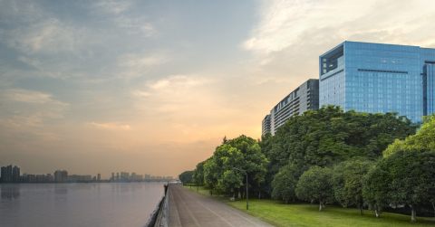 The Azure Qiantang, a Luxury Collection Hotel, Hangzhou - Exterior (Photo: Business Wire)