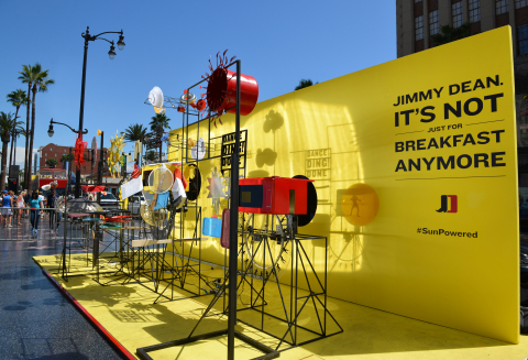 Jimmy Dean brand Sun Cinema at the Hollywood & Highland in Los Angeles. (Photo: Business Wire)