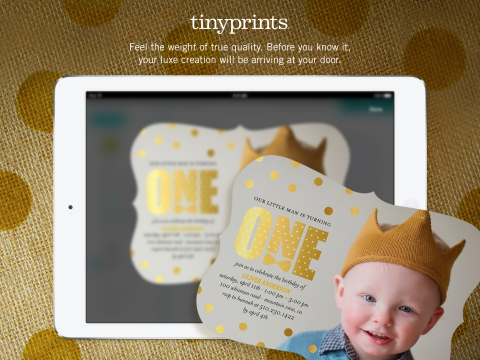 Tiny Prints Launches new iPad app (Photo: Business Wire)