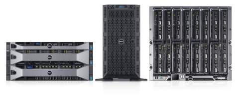 Dell PowerEdge 13th Generation Server Portfolio (Photo: Business Wire)