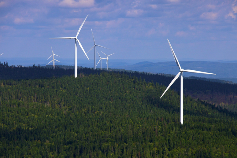 300 MW Lac-Alfred Wind Project (Photo: Business Wire)