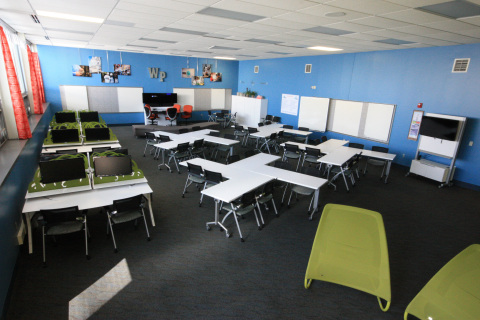 Classroom of the Future, Sidney High School, Furnished by Kimball Office (Photo: Business Wire)
