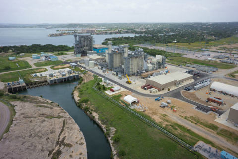 Fluor designed and built the 540 megawatt natural gas-fired power plant in Horseshoe Bay, Texas. (Photo: Business Wire)
