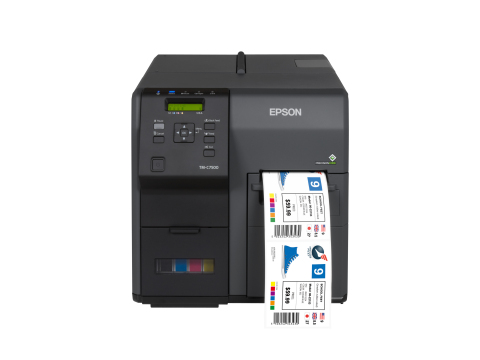 ColorWorks C7500 Label Printer (Photo: Business Wire)