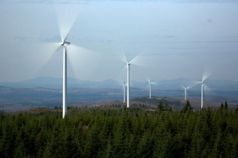 80 megawatt Saint-Robert-Bellarmin Wind Project (Photo: Business Wire)