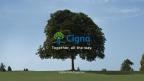 "Cigna's brand message: ""Together, all the way"" (Photo: Business Wire)"