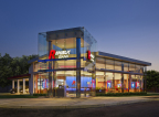 Republic Bank All Glass Prototype Store (Photo: Business Wire)
