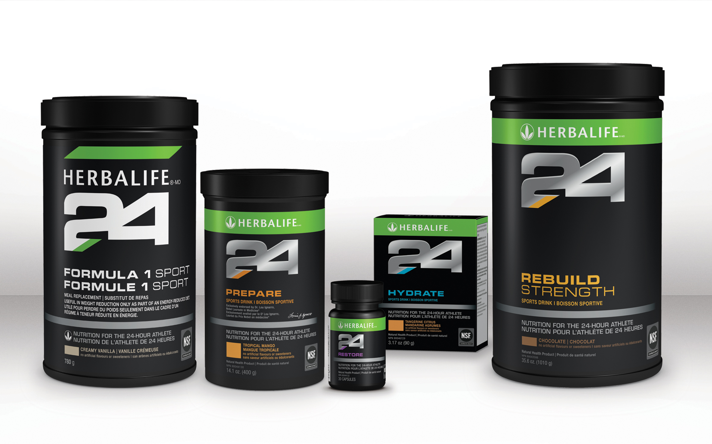 Herbalife Launches Performance Nutrition Line in Canada
