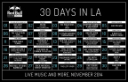 Red Bull Sound Select Presents: 30 Days in LA (Graphic: Business Wire)