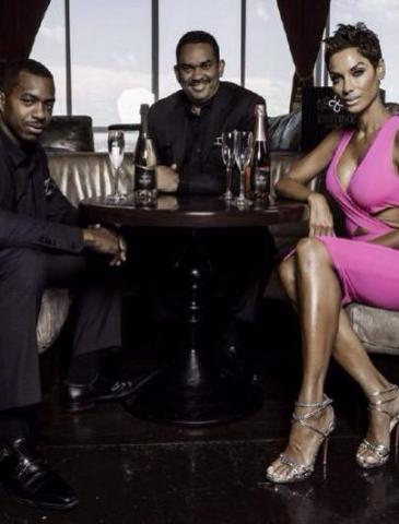 Driven Global Founders CEOs Mark Thierry & Greshaun Fulgham Along with Celebrity Model Nicole Murphy (Photo: Business Wire)