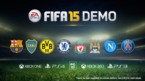 EA SPORTS FIFA 15 Demo (Graphic: Business Wire)