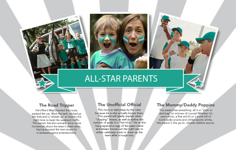 All-Star Parents (Graphic: Business Wire)