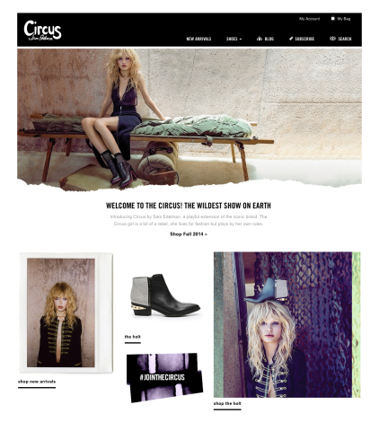 Circus by Sam Edelman Launches Ecommerce Site (Photo: Business Wire)