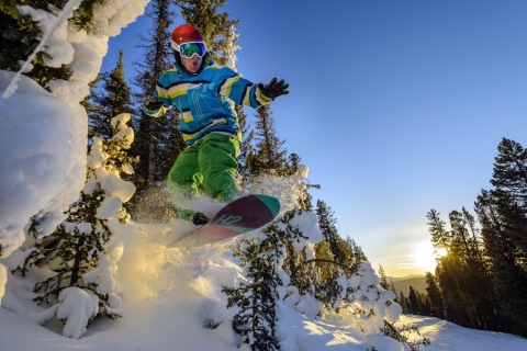 New Mexico's Angel Fire Resort is adding new skiing and snowboarding terrain this winter season along with a 'Two Seasons for One' special pass for skiers, snowboarders and mountain bikers. (Photo: Business Wire)