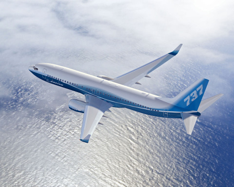 Alcoa signs the largest-ever contract with Boeing to supply aluminum sheet and plate products. The multiyear, more than $1 billion contract, makes Alcoa sole supplier to Boeing for wing skins on its metallic structure aircraft. Alcoa plate products, such as wing ribs and skins, will also be on every Boeing platform. The Boeing next-generation 737, shown here, is one of the world's most successful commercial airliners and features Alcoa aluminum. (Photo: Business Wire)