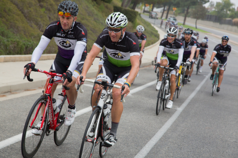 Cyclist ride through Ojai Valley in support of CAF and athletes with physical disabilities (Photo: Business Wire)