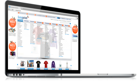 New product menu for online printing portals of unitedprint.com (Photo: Business Wire)