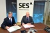 SES and EuroSkyPark Strengthen Their Technological Partnership and Sign a New Capacity Agreement for the ASTRA 3B Satellite at 23.5° East (Photo: Business Wire)