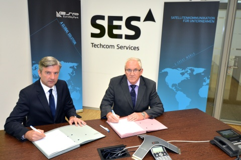 SES and EuroSkyPark Strengthen Their Technological Partnership and Sign a New Capacity Agreement for ...