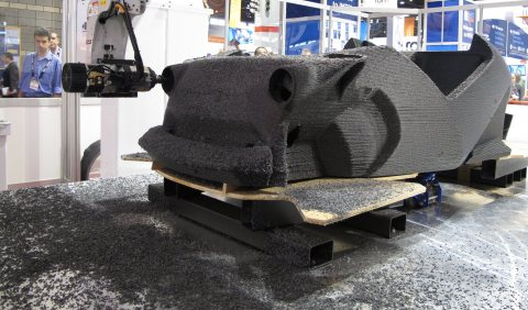 Autodesk and Local Motors collaborate on first industrial application of Spark, the open 3D printing ...