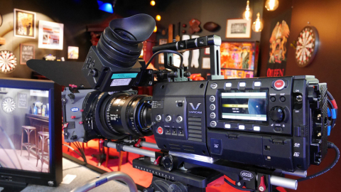 The Varicam 35 4K camera/recorder incorporates a newly-developed super 35mm MOS image sensor and AVC ...