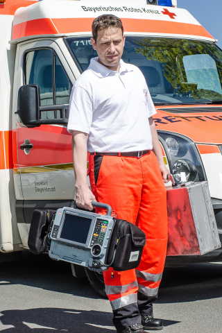 Germany's Rettungsdienst Bayern has announced that it will equip its emergency response fleets with monitor/defibrillators from Physio-Control. The ambulance service is one of the largest in Western Europe, and makes more than 3,000 emergency calls per day, on average. (Photo: Business Wire)