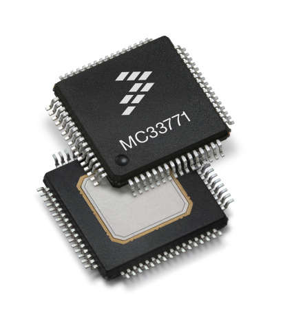 Freescale's new MC33771 battery cell controller (Photo: Business Wire)