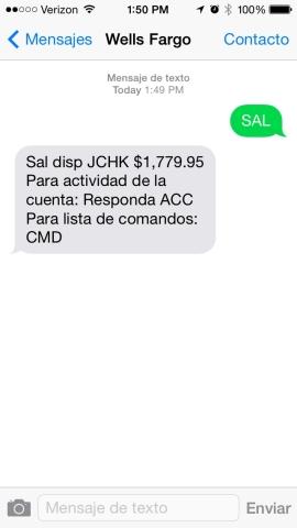 Wells Fargo Offers Spanish-Speaking Customers New Text Banking en