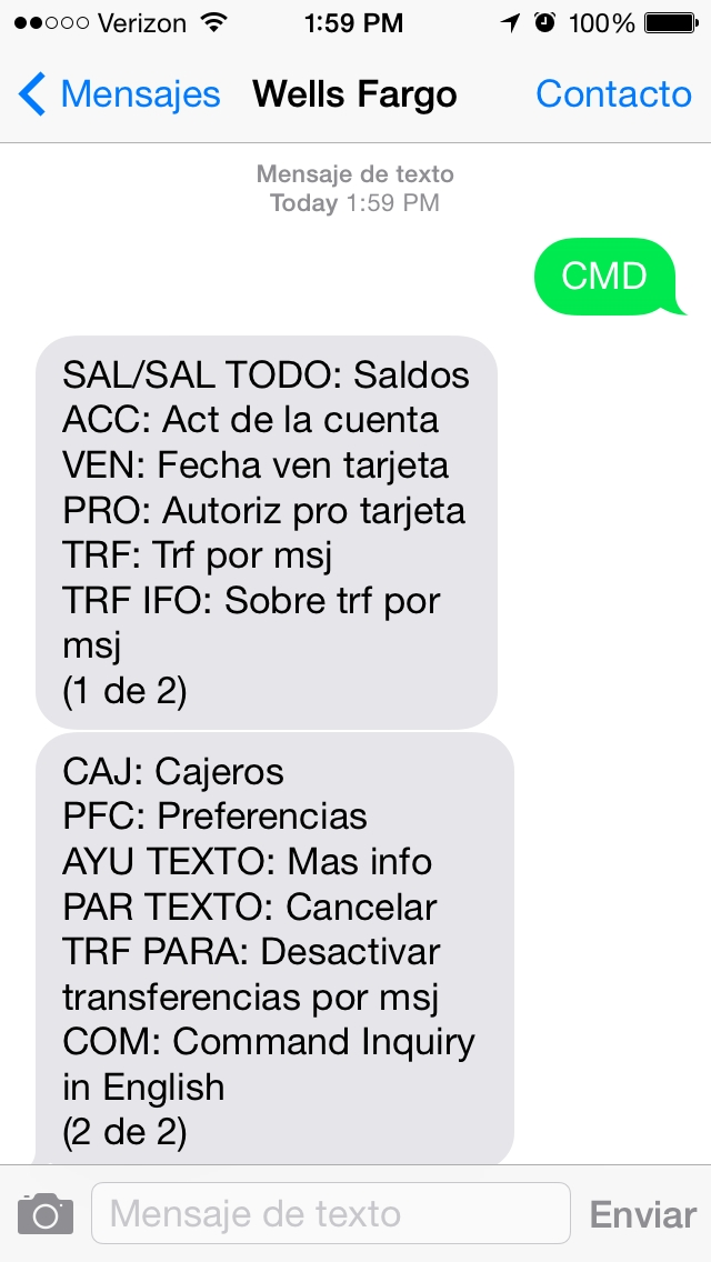 Wells Fargo Offers Spanish-Speaking Customers New Text Banking en ...