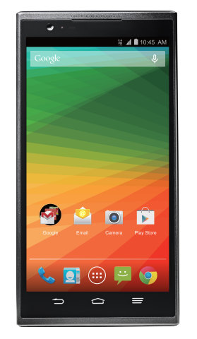 ZTE ZMAX lets you live large with a 5.7 inch screen (Photo: Business Wire)
