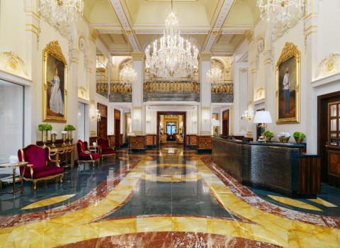 Hotel Imperial, a Luxury Collection Hotel, Vienna - Lobby (Photo: Business Wire)