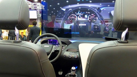 Head Up Display (Photo: Business Wire)