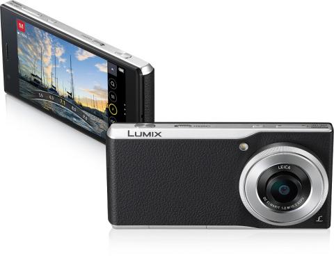 "DMC-CM1, a new concept ""Communication Camera"" of Leica lens mount (Photo: Business Wire)"