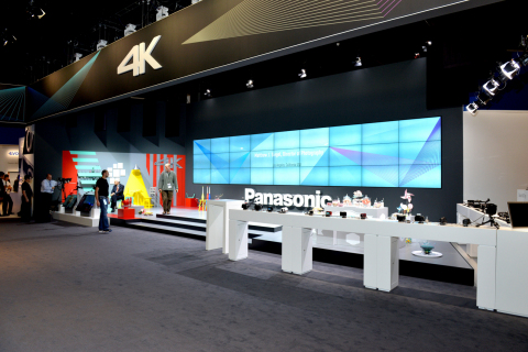 With a full line-up of 4K cameras, Panasonic will satisfy consumers, prosumers, and professionals alike. (Photo: Business Wire)