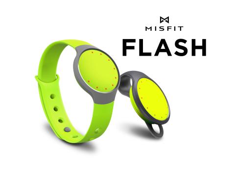ミスフィットの新しいフィットネス/スリープモニターのフラッシュ(写真:ビジネスワイヤ)