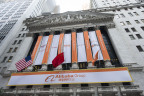 The facade of the New York Stock Exchange today. (Photo: Business Wire)