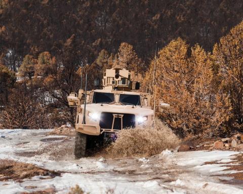 Oshkosh is ready to start JLTV production on an active and proven production line that is already building heavy, medium and protected MRAP military vehicles for our Armed Forces today. (Photo: Business Wire)