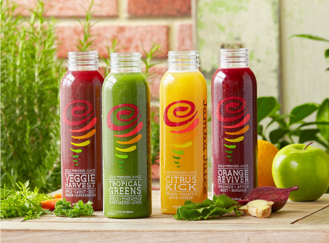 Jamba Cold Pressed Juice (Photo: Business Wire)