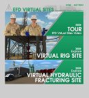 The safest and best practices available for hydraulic fracturing can now be accessed through anyone's desktop computer. HARC announced the launch of its Virtual Hydraulic Fracturing System, a free, interactive application, on Sept. 22, 2014. Here Roughnecks Ralph and Rhonda guide visitors through the site. Photo courtesy: epic software group and HARC