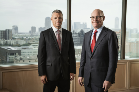 (left to right) Scott Summy, Shareholder and Head of the Environmental Law Group, and Russell Budd, Co-Founder and President. (Photo: Business Wire)